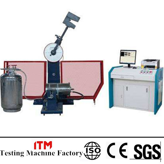 JBDW-300C Computer Screen Display Pendulum Impact Testing Machine with low temperature chamber