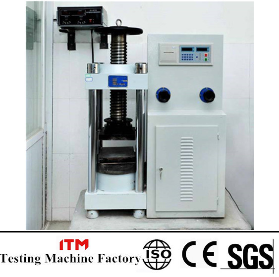 compression testing machine manual